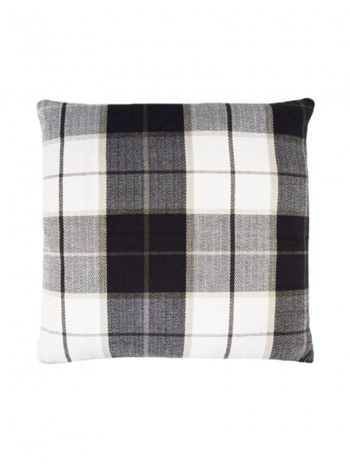 Check Cushion Grey
