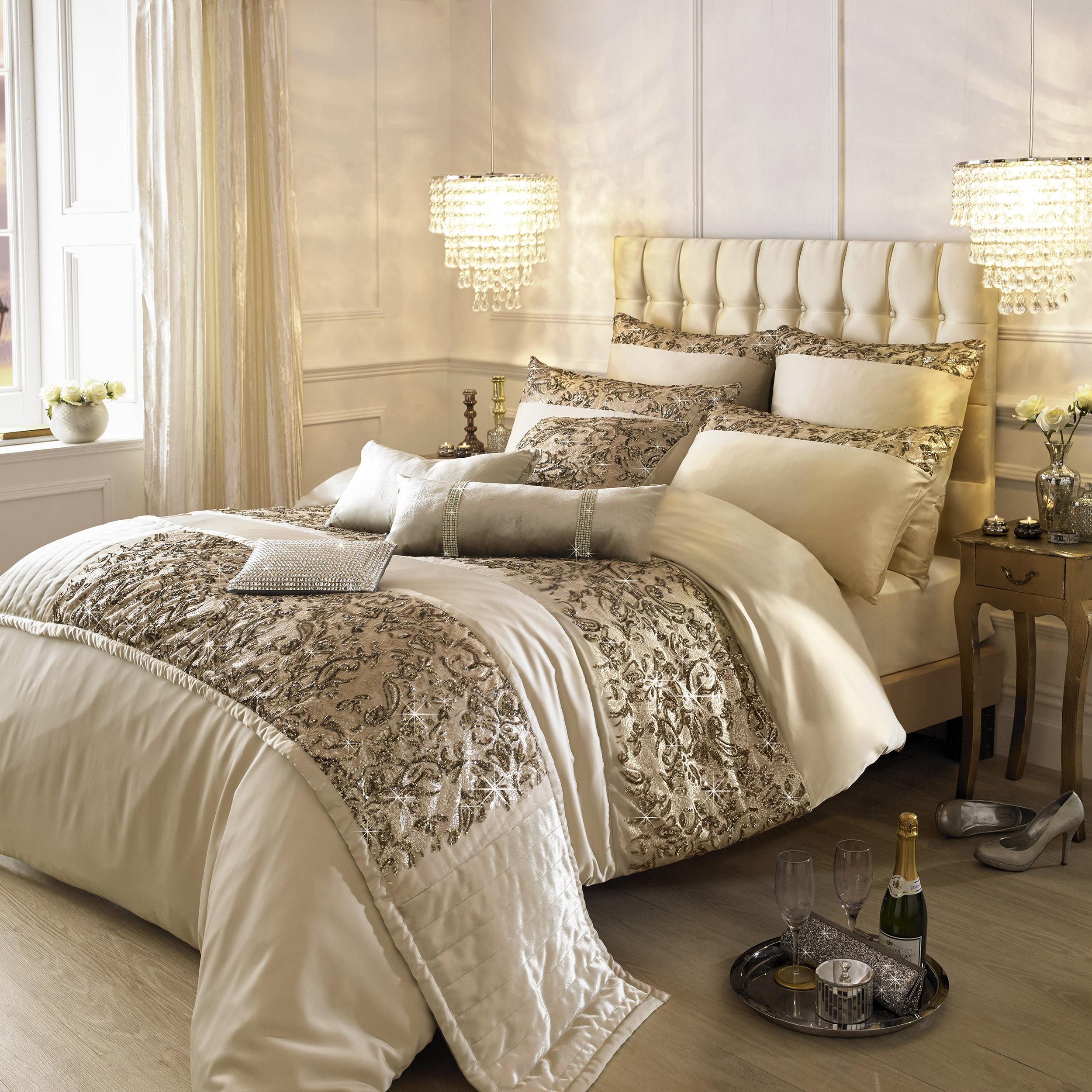 Kylie Minogue Alexa Bedding Range Gold Ponden Homes