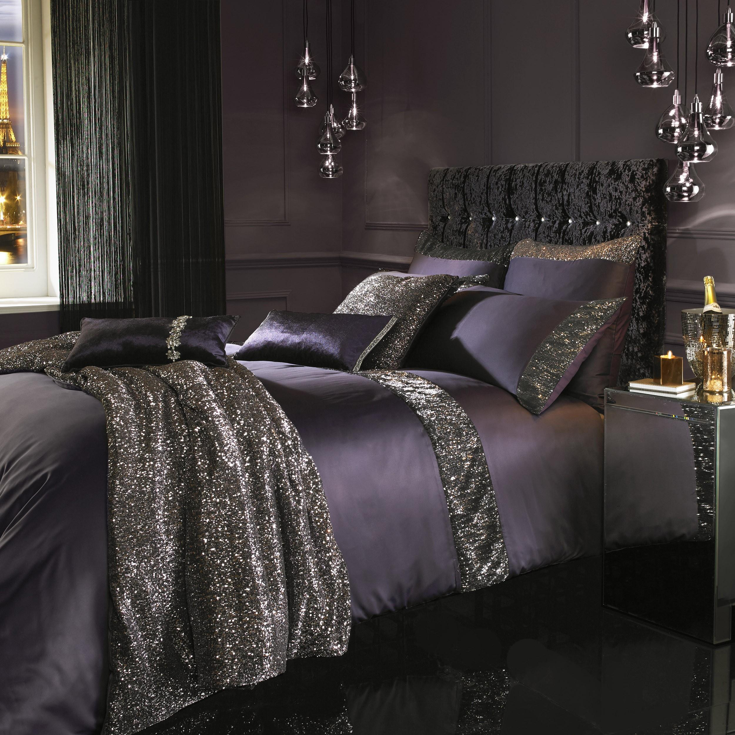 Kylie Minogue Astor Bedding Range Amethyst | Ponden Home