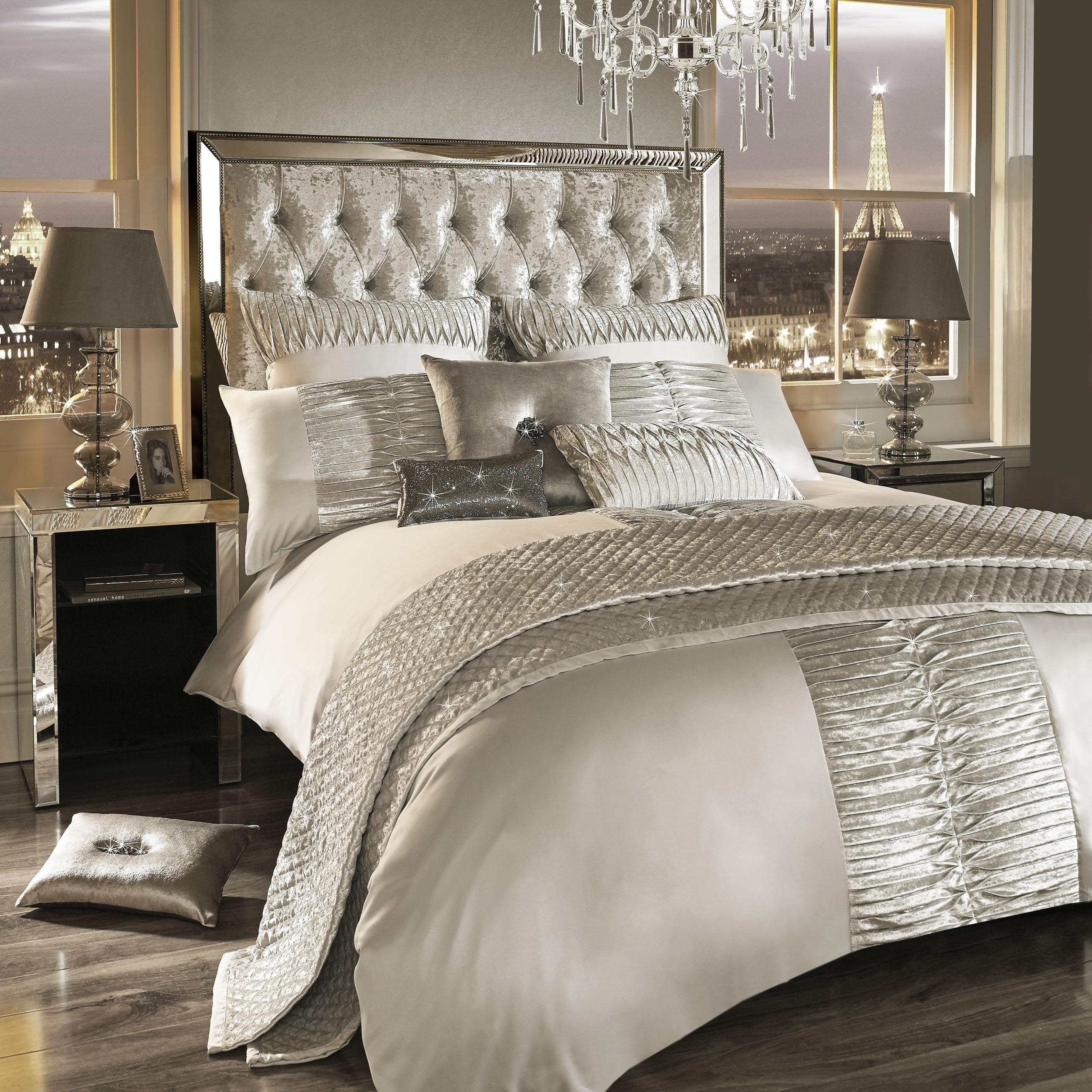 Kylie Minogue Atmosphere Bedding Collection Ivory Ponden