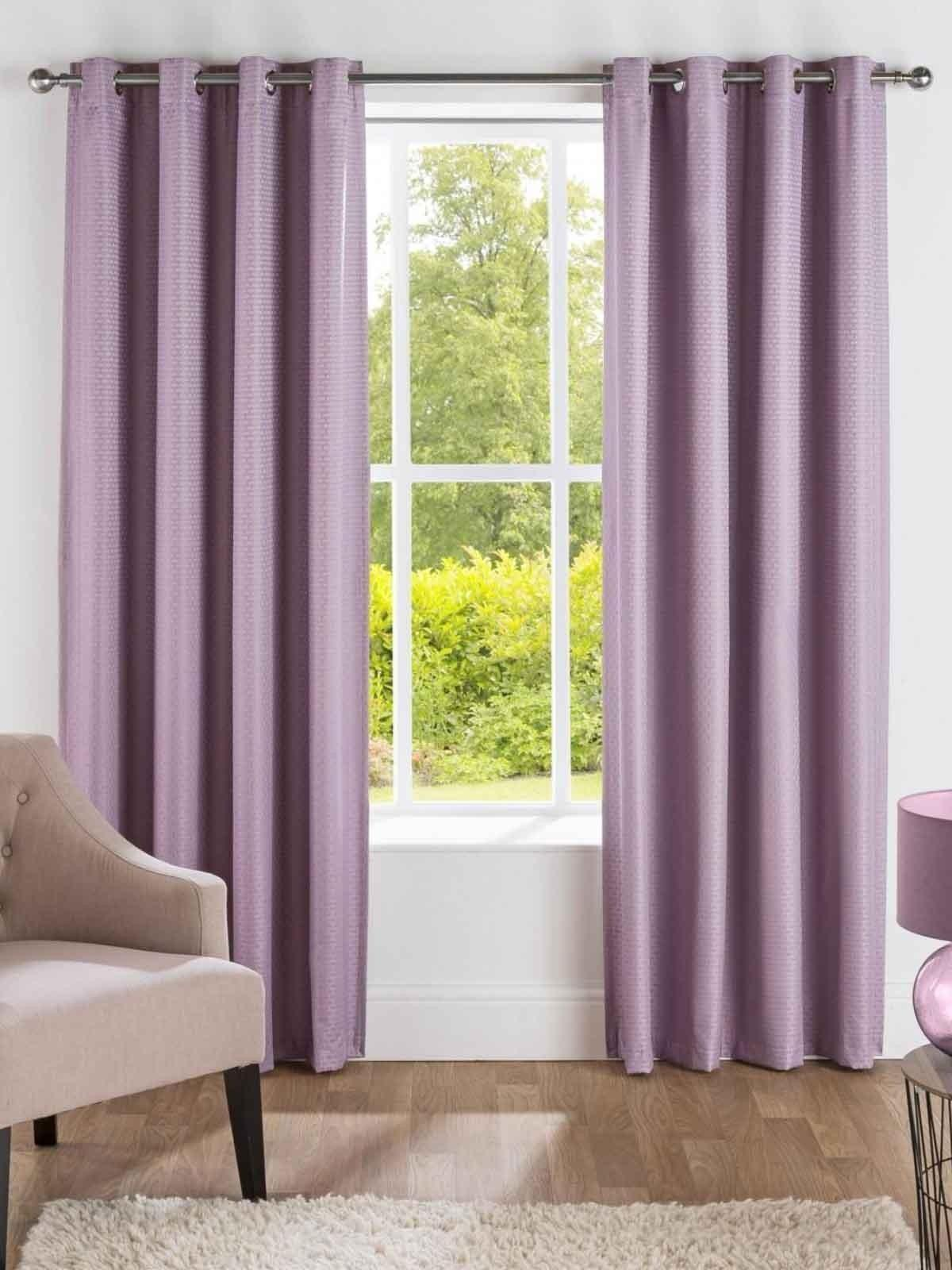 Serene Thermal Blackout Eyelet Curtains Heather Ponden Home