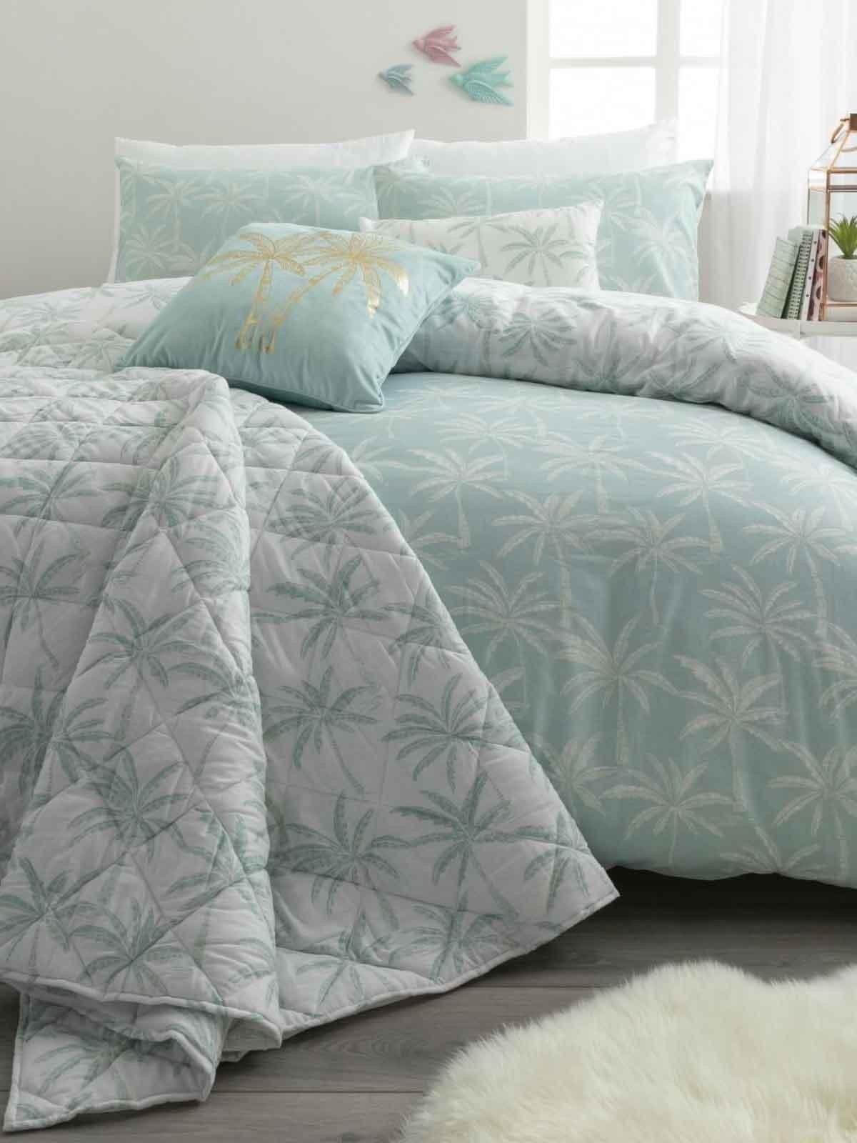 Tropical Palm Bedding Collection Aqua Ponden Home