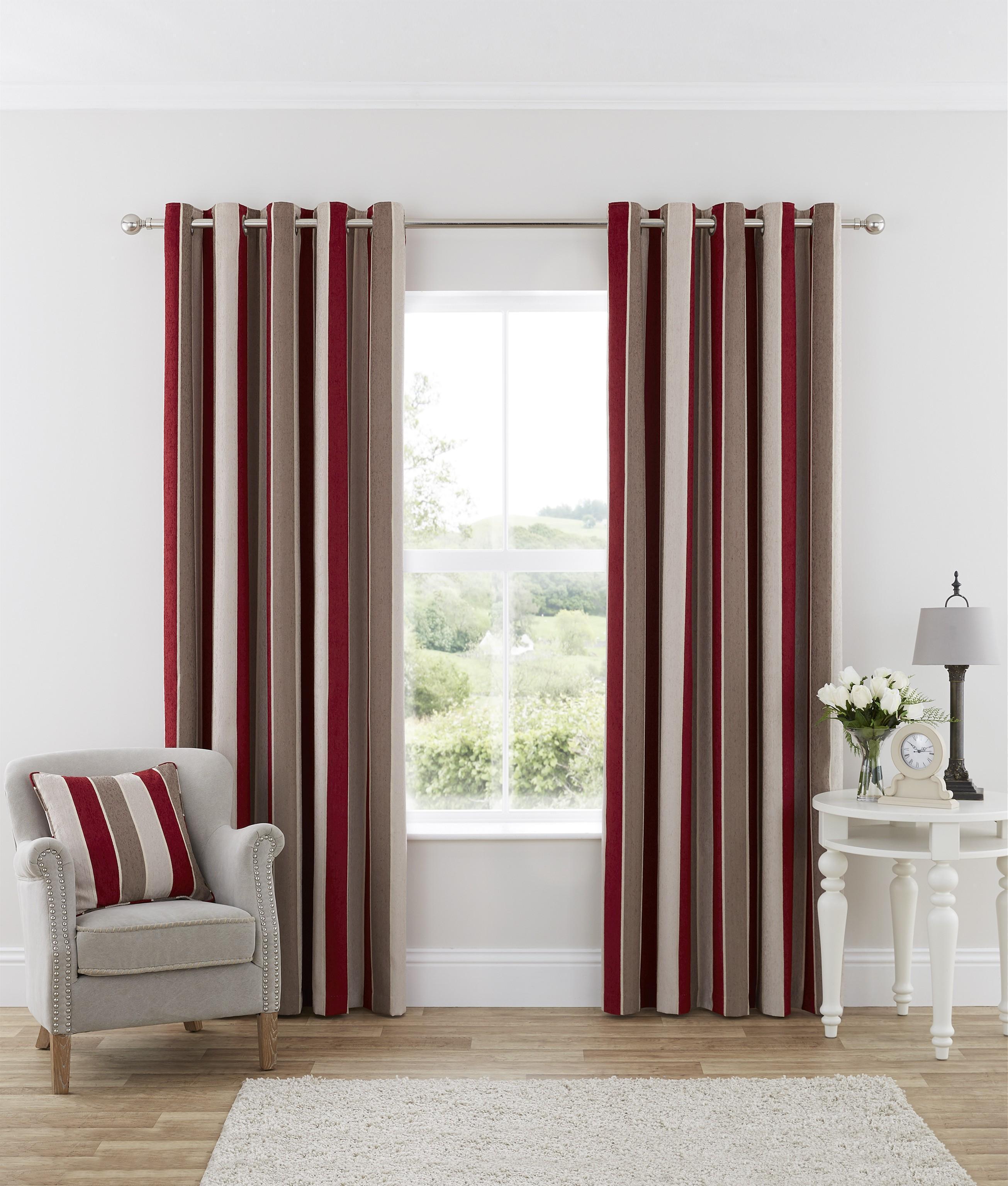 28 Elegant Red Curtains For Kitchen Black