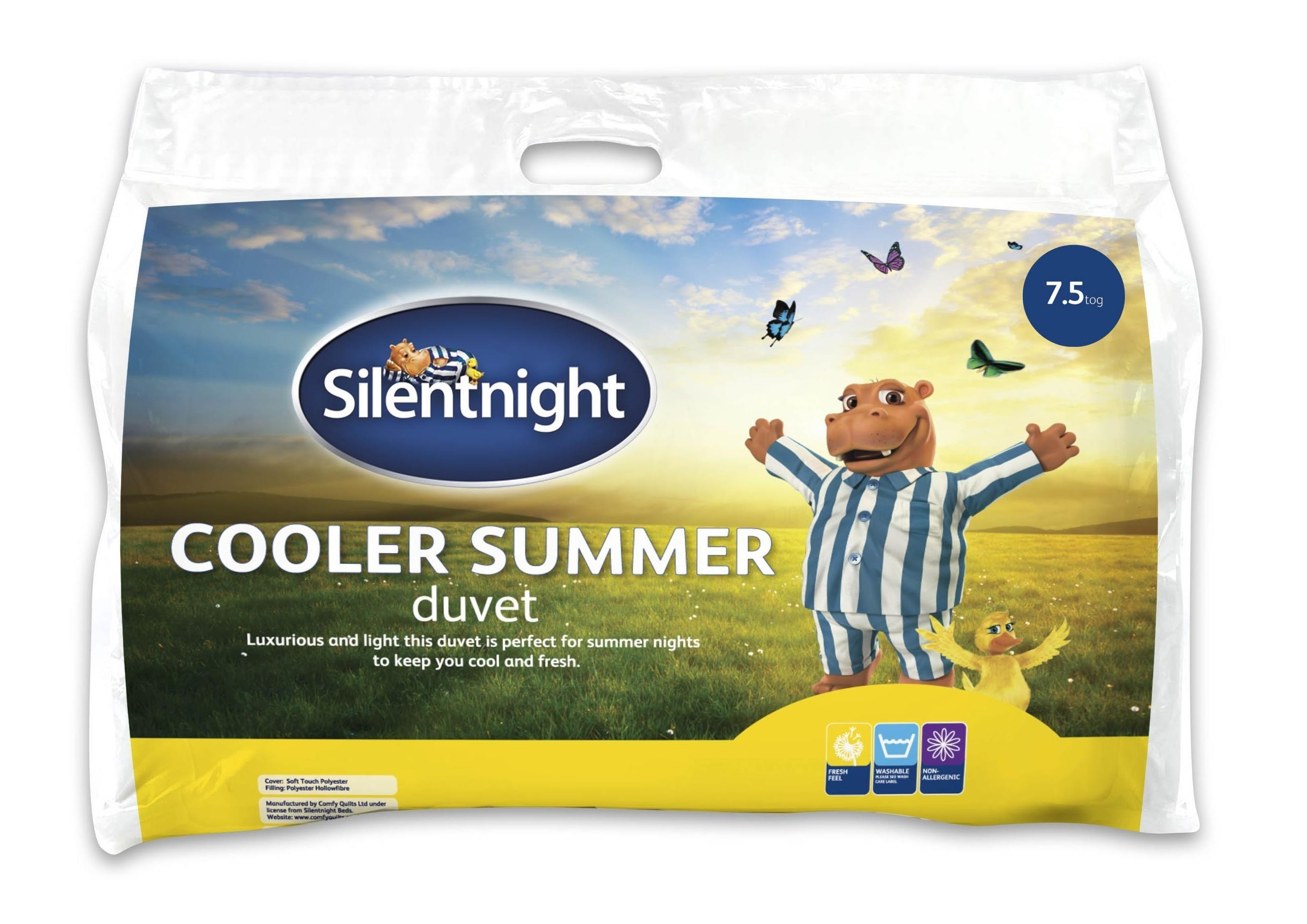 Silentnight Cooler Summer Duvet 7 5 Tog Ponden Home