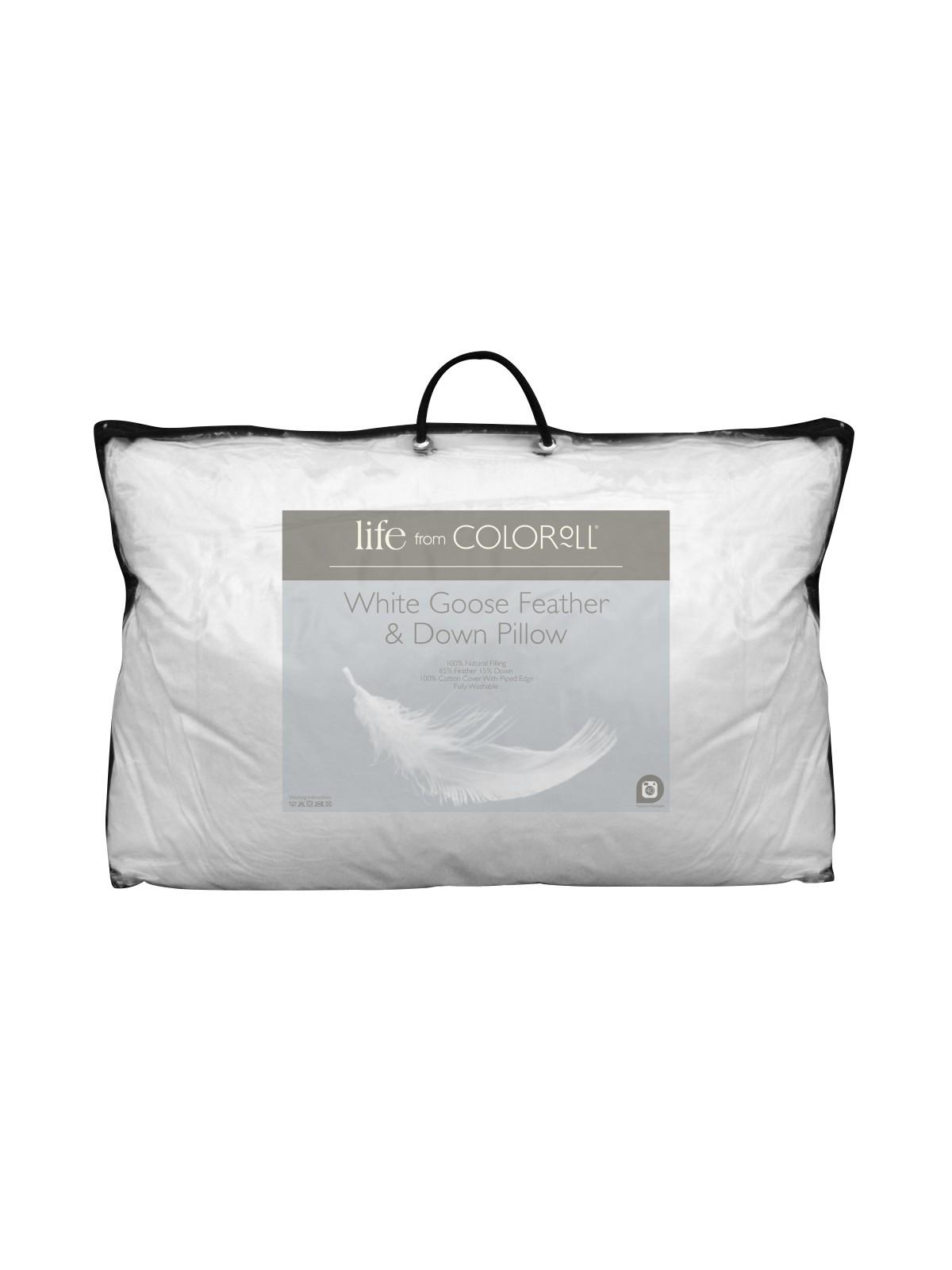 Goose Feather Amp Down Pillow Ponden Home