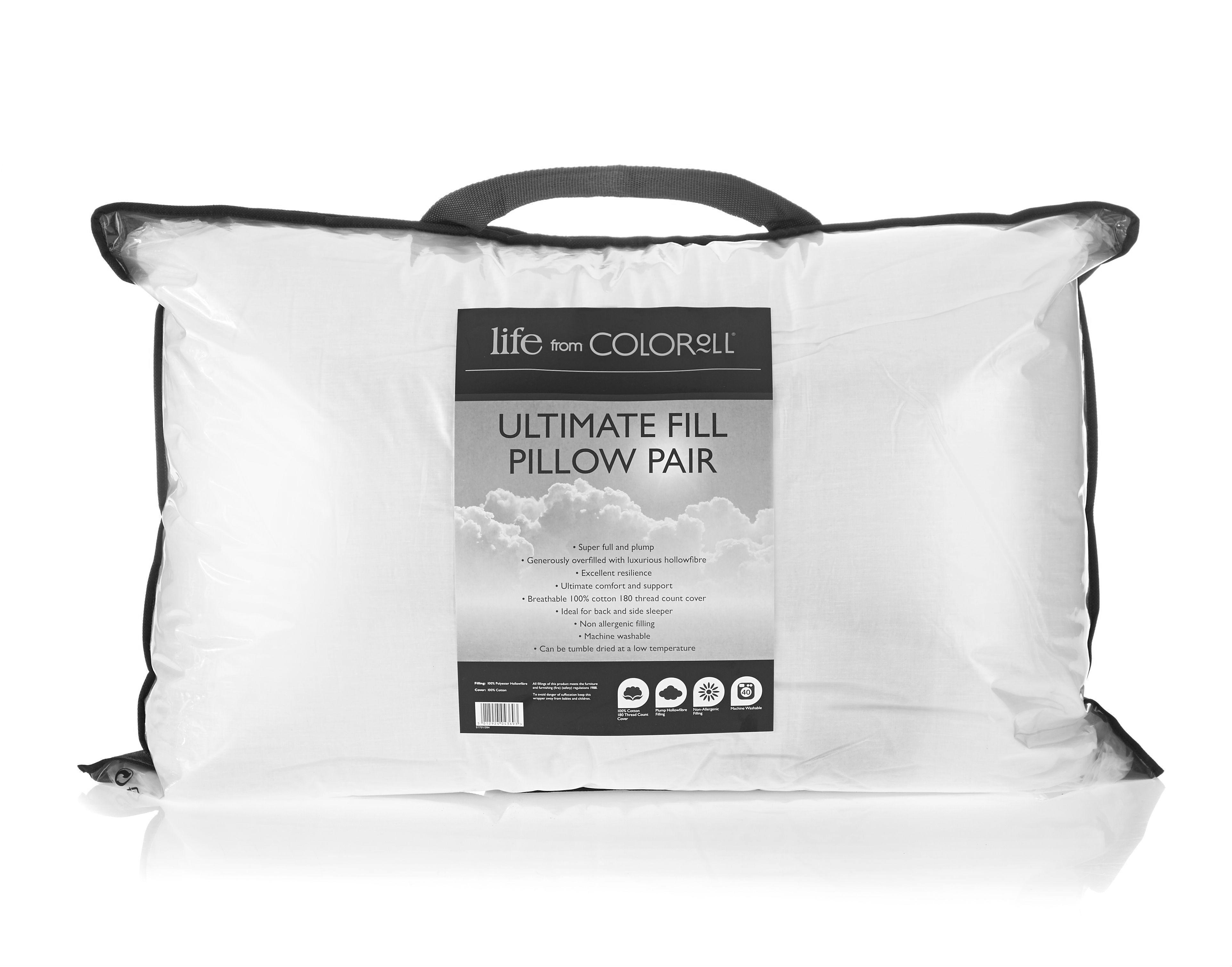 Ultimate Fill Pillow Pair Ponden Home