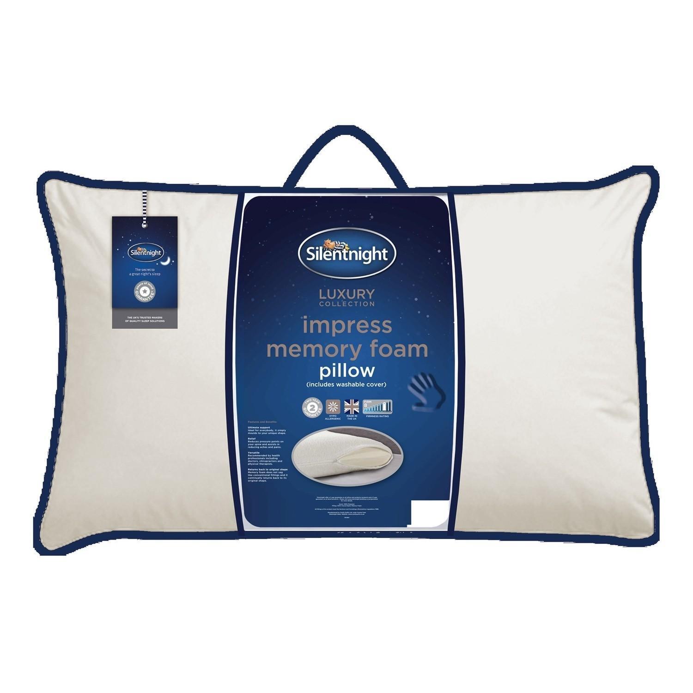 Silentnight Memory Foam Traditional Pillow Review : Silentnight Memory Foam Impress Pillow Ponden Home