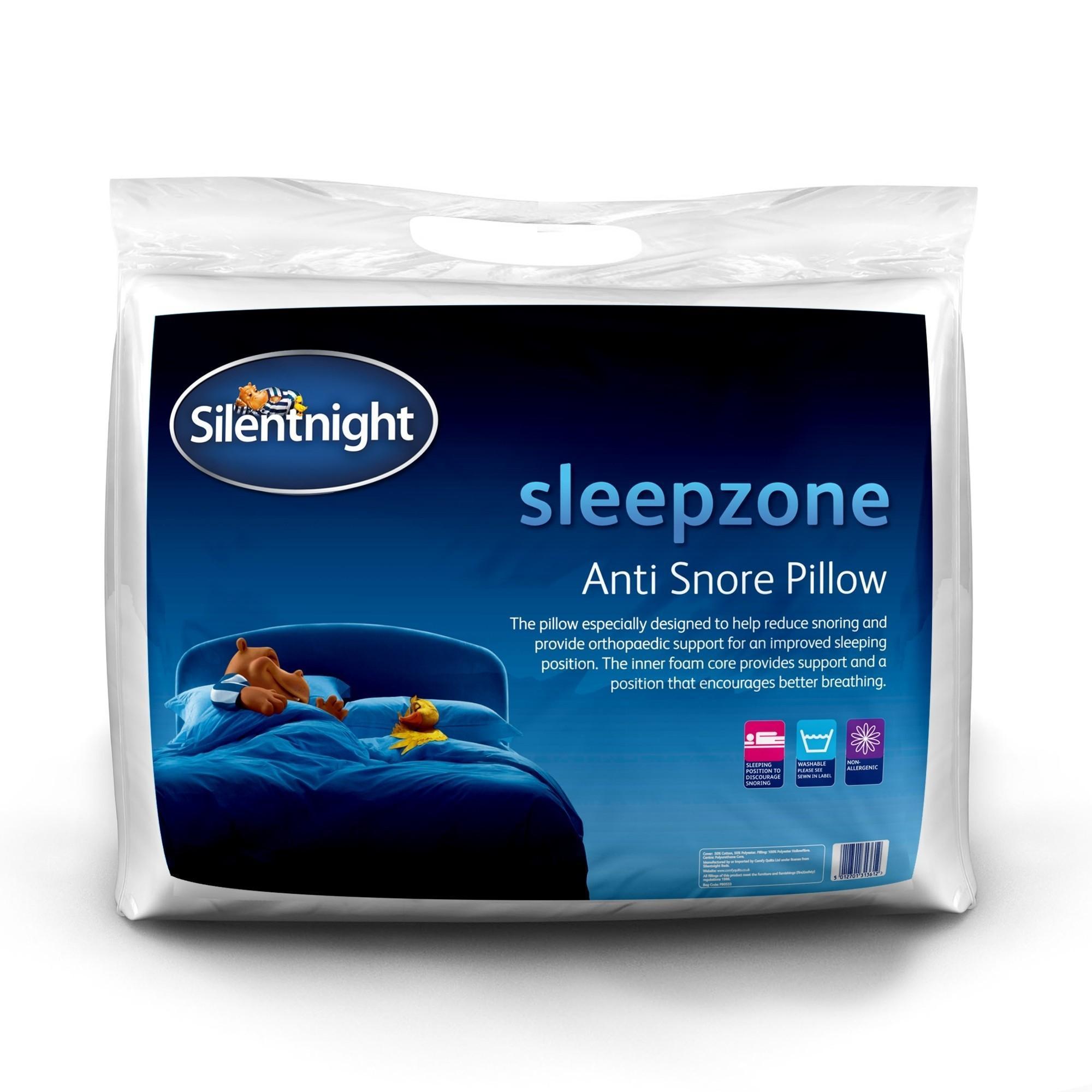 silentnight sleepzone anti snore pillow ponden home. Black Bedroom Furniture Sets. Home Design Ideas