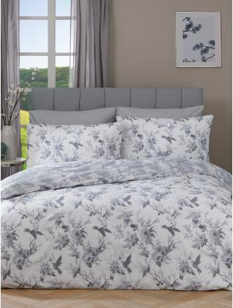 Duvet Covers Sets Single Double, Black And Cream Toile Queen Bedding