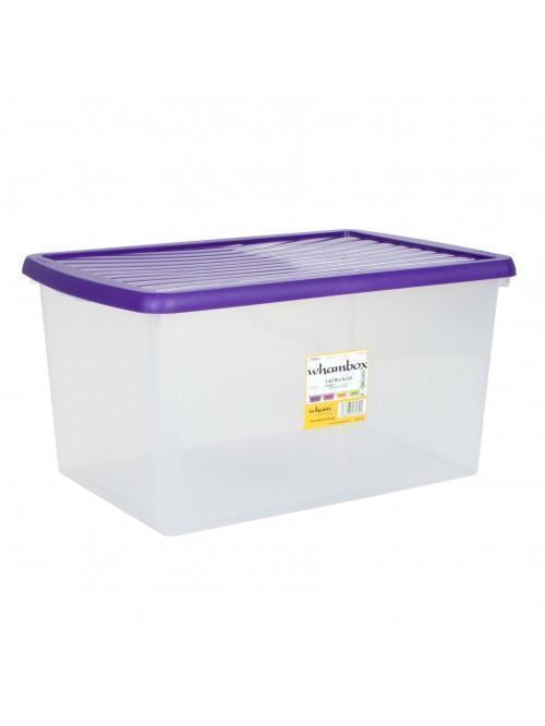 Wham® Box & Lid 54L x5 Violet