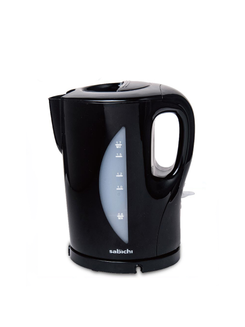 1.7ltr Essential Kettle Black