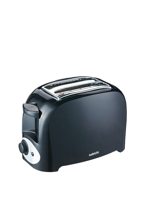 2 Slice Essential Toaster Black