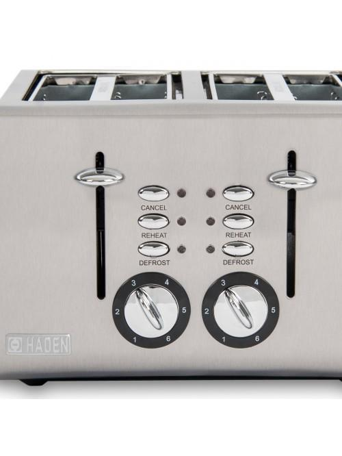 Haden Cotswold Sage 4 Slice Toaster