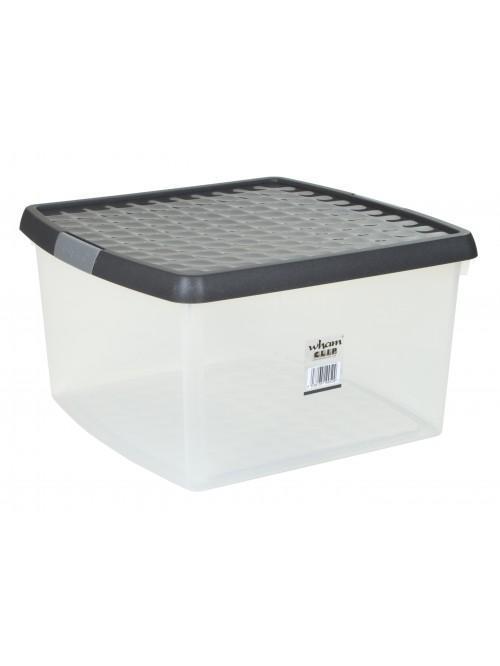 Wham® Clip 25.5L Box & Lid x5 Clear
