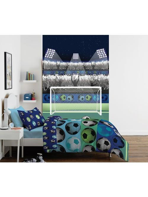 Catherine Lansfield Football Bedding Collection Blue