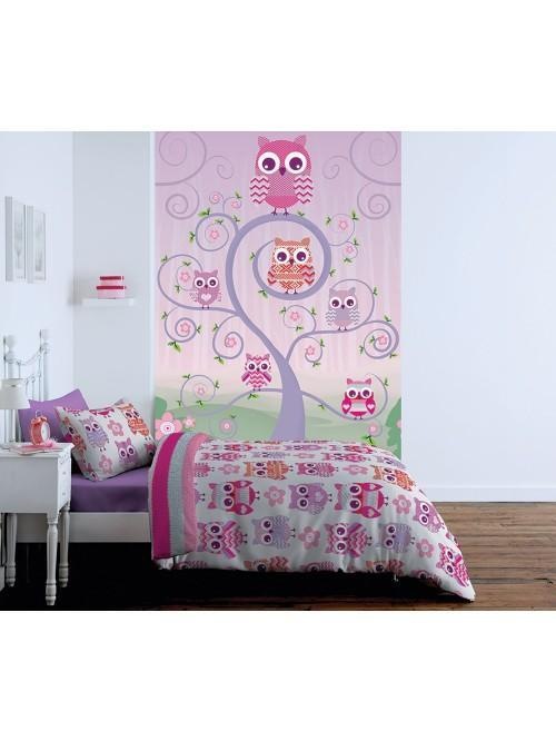 Catherine Lansfield Owl Bedding Collection Multi