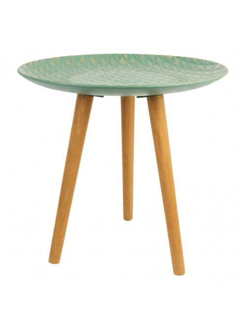 Amazonia Collection Round Wooden Table 44cm