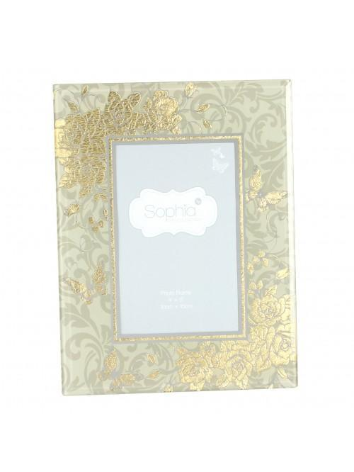 Sophia Collection Photo Frame 4 x 6 Gold