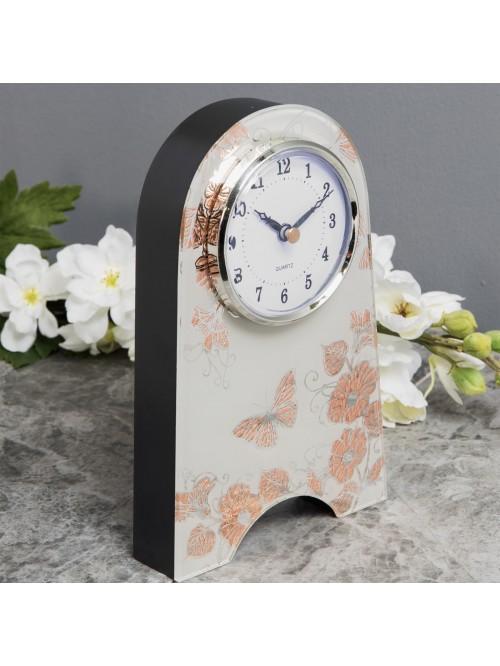 Sophia Rose Gold Collection Mantel Clock