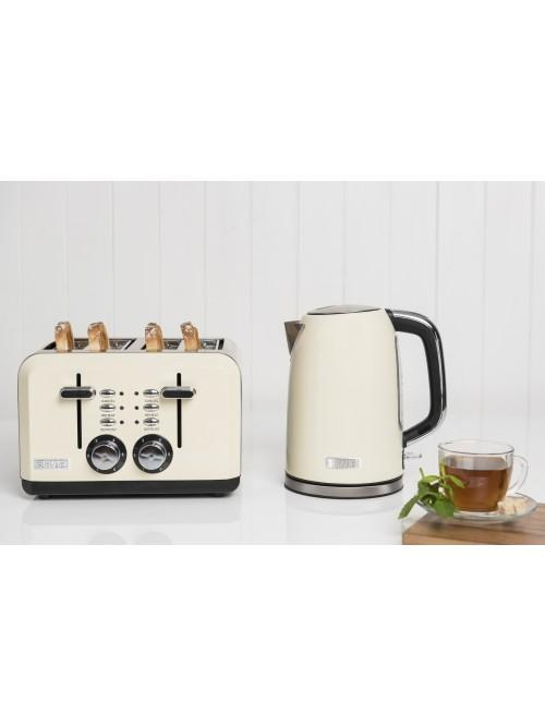Haden Perth Sleek Cream Kettle