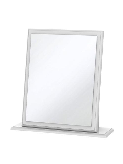 Apollo Small Mirror White Gloss