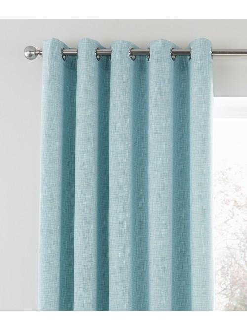 Bayliss Eyelet Curtains Duck Egg