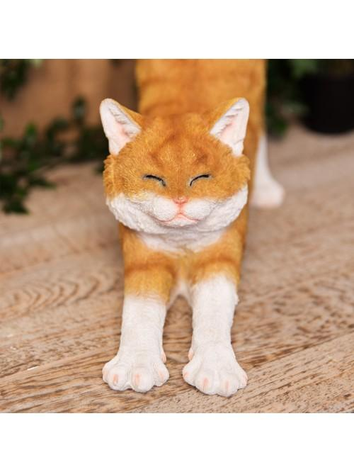 Best of Breed Collection - Ginger & White Cat Figurine