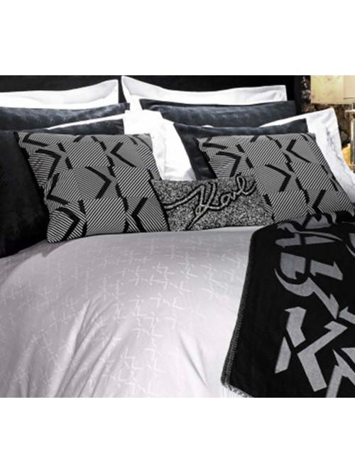 Karl Lagerfeld Boutique Jacquard Bedding Range White