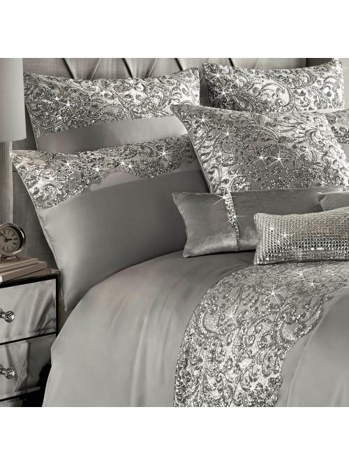 Kylie Minogue Cadence Bedding Collection Silver