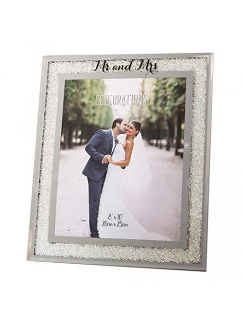 Celebrations 'Mr & Mrs' Crystal Border Frame 8 x 10
