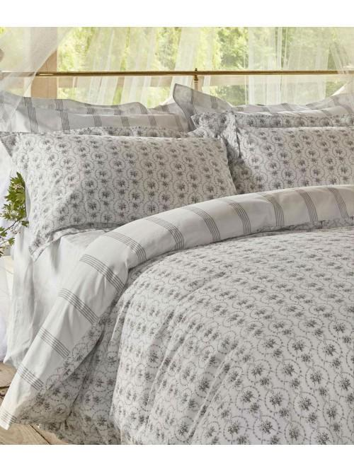 Cabbages & Roses Julia Bedding Collection Dove
