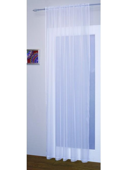 Crystal Voile Panel White