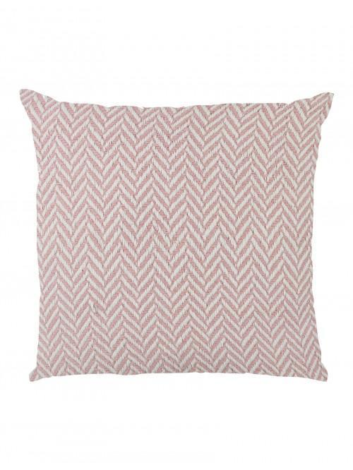 Herringbone Large Cushion Pink