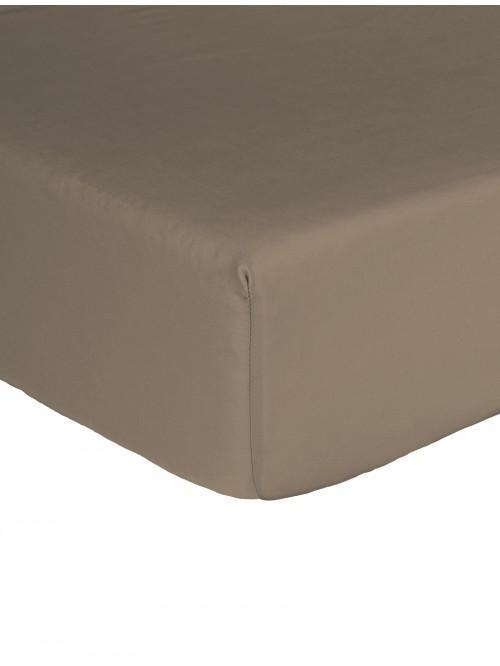 Egyptian 100% Cotton 200 Thread Count Fitted Sheet Truffle