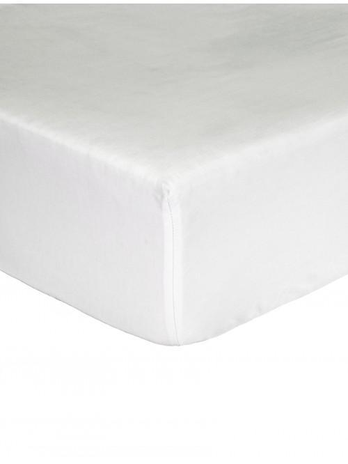 Egyptian 100% Cotton 200 Thread Count Fitted Sheet White