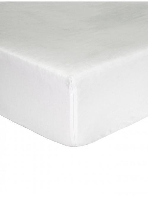 Egyptian 100% Cotton 200 Thread Count Extra Deep Fitted Sheet White