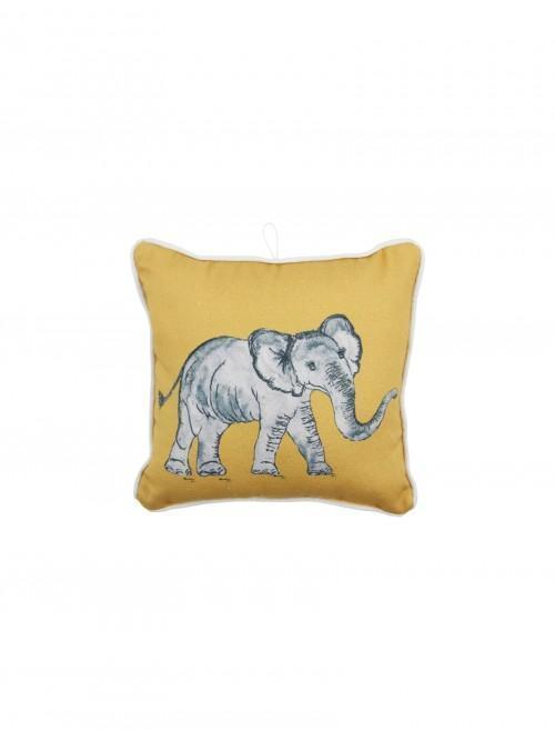 Elephant Mini Cushion