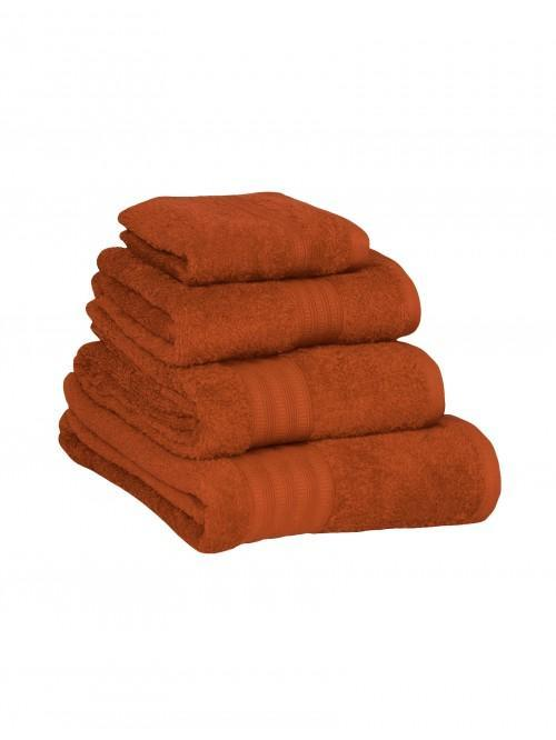 Extra Soft 100% Cotton Towels Orange