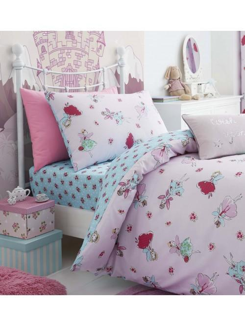Catherine Lansfield Fairies Bedding Collection Pink