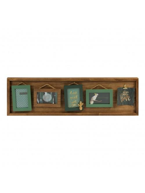 Amazonia Collection MDF Frame & Hook