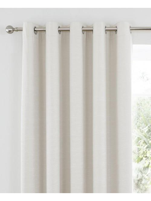 Harmony Blackout Eyelet Curtains Cream