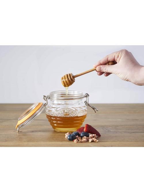 Kilner 0.4 Litre Clip Top Honey Pot with Dipper
