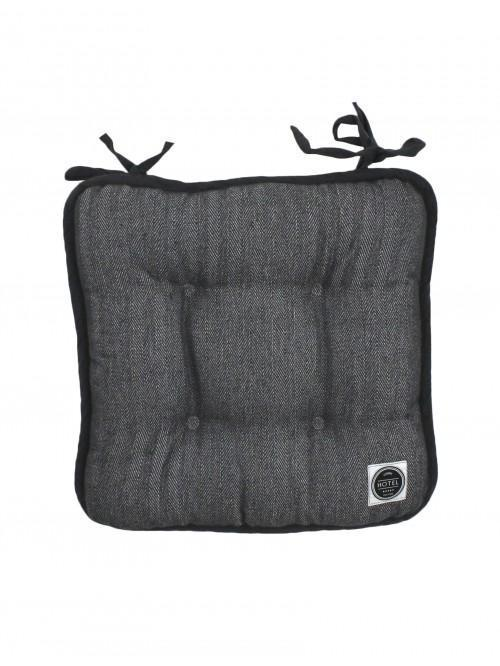 Hotel Collection Seat Pad Grey