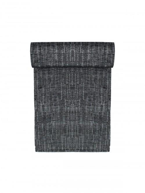 Hotel Luxe Corsica Fabric Table Runner Black