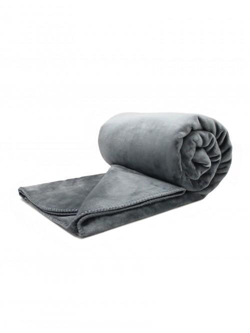 Hotel Large Luxury Throw Charcoal