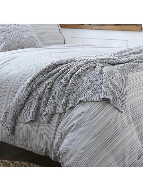Bianca Knit Throw Grey