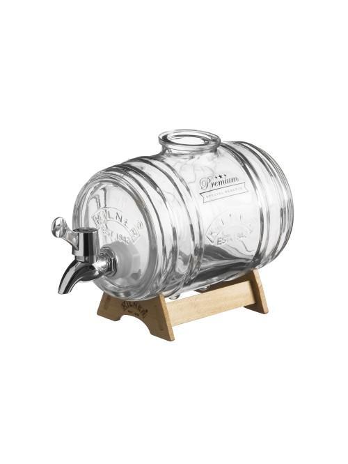 Kilner Barrel Drinks Dispenser 1 Litre