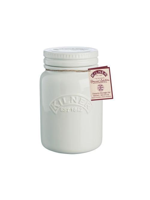 Kilner Ceramic Storage Jar Moonlight Grey 600ml