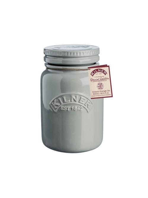 Kilner Ceramic Storage Jar Morning Mist 600ml