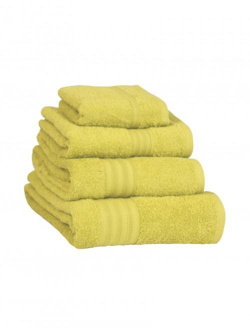 Extra Soft 100% Cotton Towels Lemon
